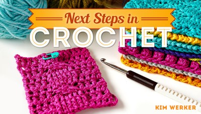 Next Steps in Crochet class image