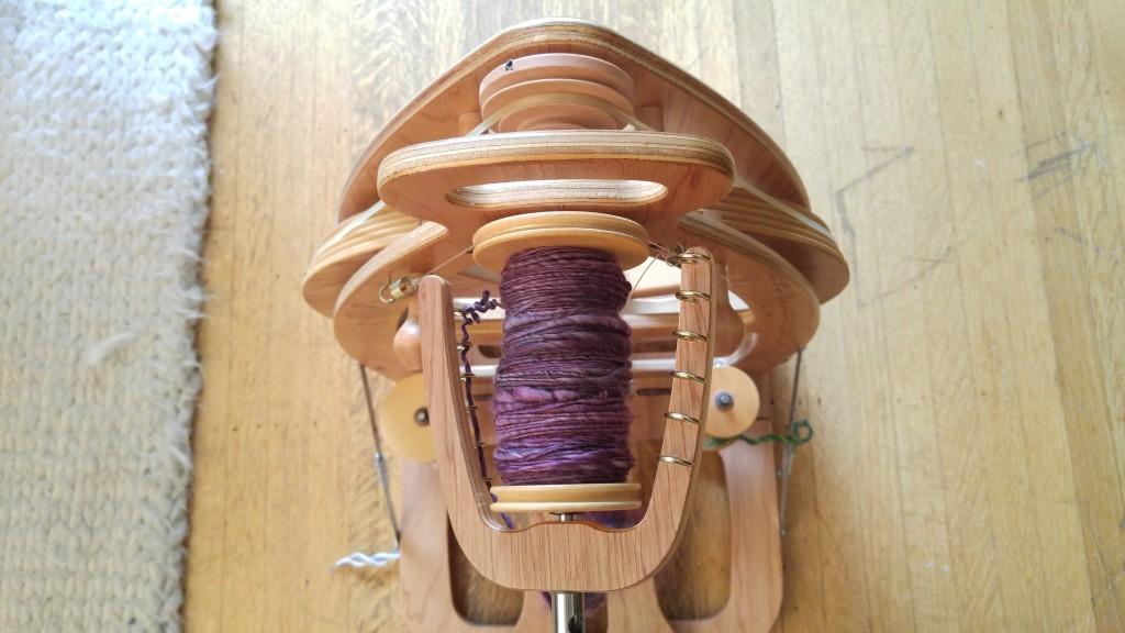 Spinning yarn for Spinzilla 2015