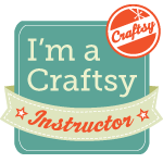 I teach crochet at Craftsy.com. Come learn with me!