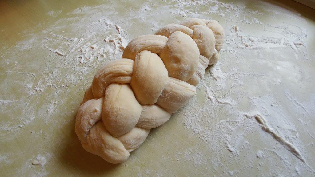 Braided challah dough – http://kimwerker.com