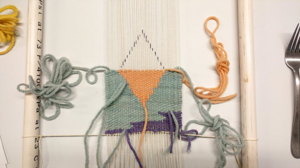 Tapestry weaving - http://kimwerker.com/blog