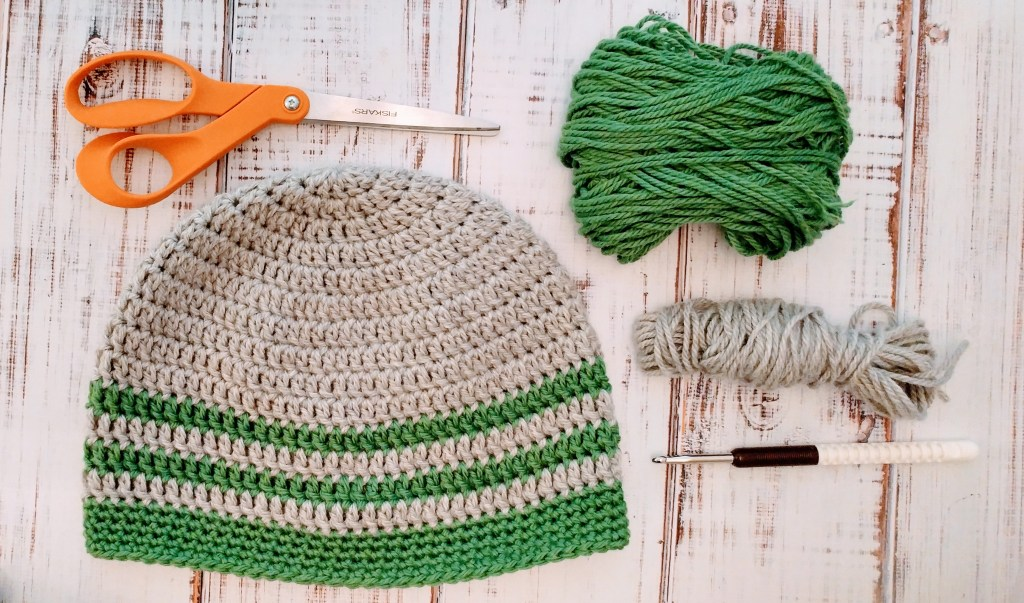 Free pattern for the simplest crochet hat! http://kimwerker.com/blog