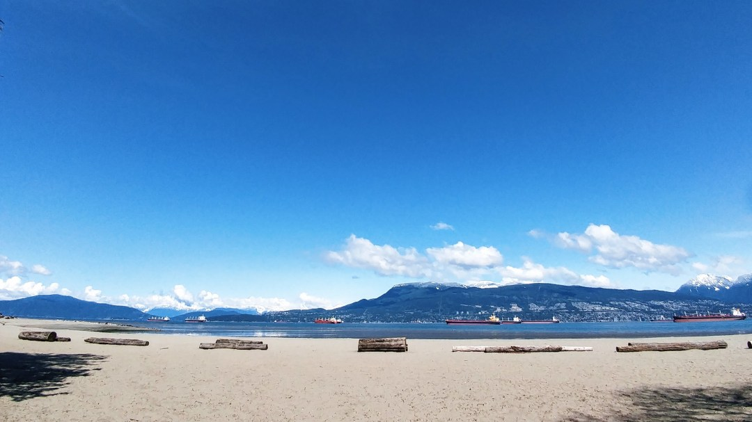 Spanish Banks beach, Vancouver BC