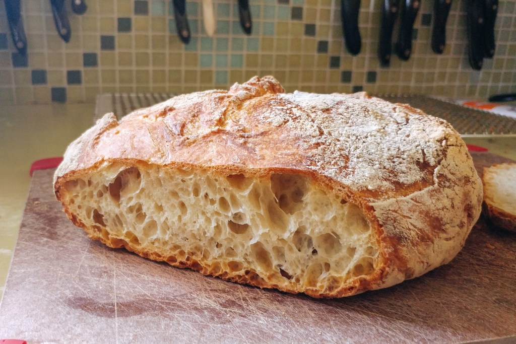 A love affair with no-knead bread. More at http://www.kimwerker.com/blog