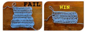 How to make neat edges in double crochet – https://kimwerker.com/blog