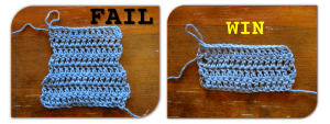 How to make neat edges in double crochet – https://kimwerker.com/blog