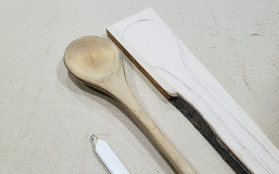 What I'm Making: A Wooden Spoon