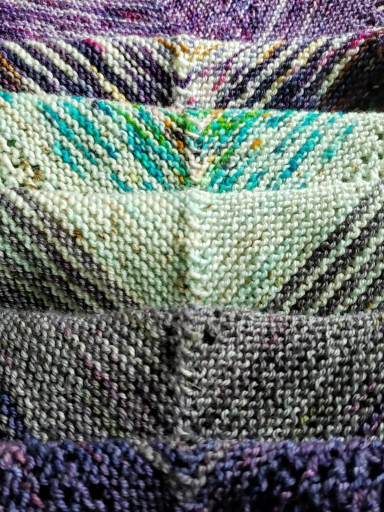 What I'm Making: Find Your Fade Shawl
