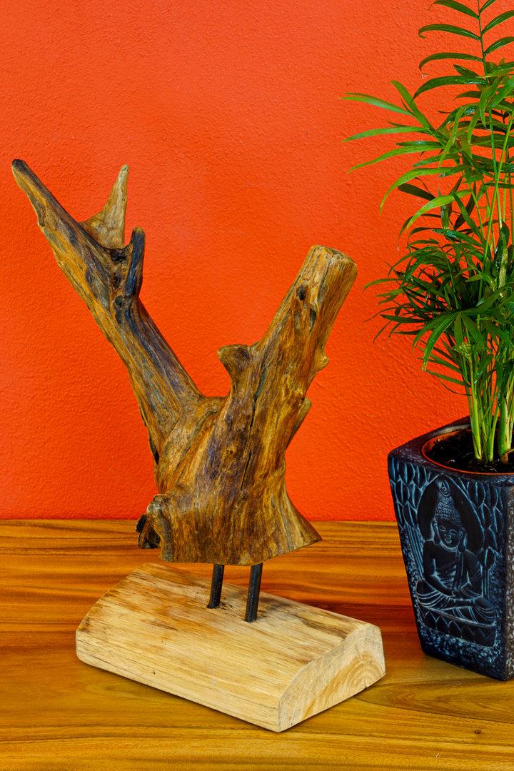 Wurzelholz Mbel  Teak Holz Treibholz Skulptur  Kinaree