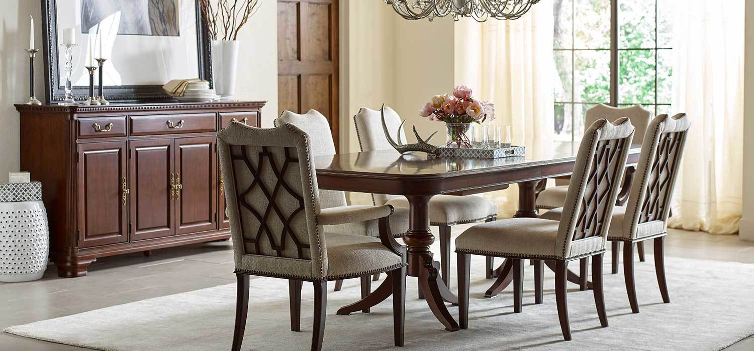 black dining room chair power batteries hadleigh collection by kincaid furniture