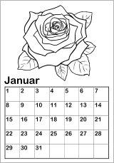 Kostenlose Kalendervorlagen  Kinderkalender alle Jahre Online Ausdrucken Basteln