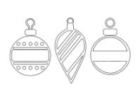 Malvorlage Weihnachten Kugeln 30 Kostenlose Vorlagen Fr