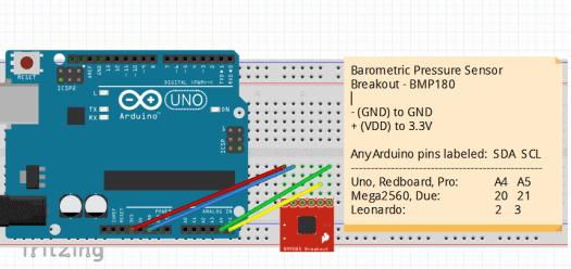 Barometric Pressure Sensor Breakout - BMP180