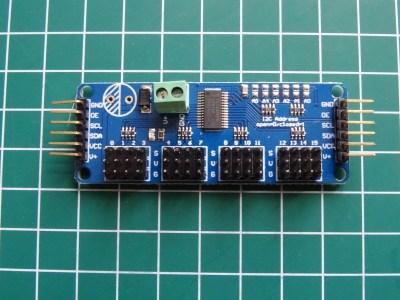 PCA9685 16-Channel 12-bit PWM Servo Motor Driver