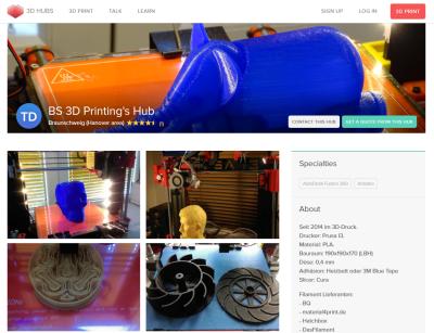 Thomas 3D Druck Hub in Braunschweig