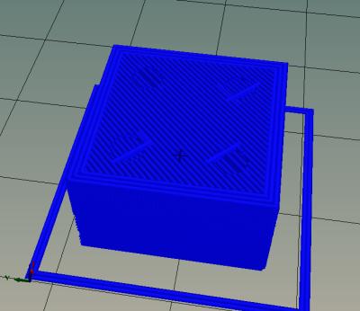 3D-Druck – Slicer Test mit LEGO