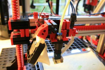 fischertechnik 3D-Drucker Kühlung