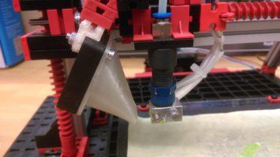 fischertechnik 3D Drucker mit Filamentkühlung