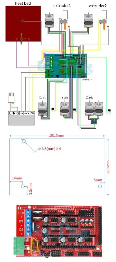 Ramps 1.4 3D Drucker Controller