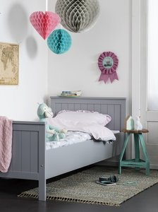 Coming kids Flex tienerbed 90x200 grey  Kinderbeddenstore