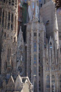 Sagrada Familia Nahaufnahme
