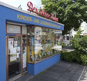 Der kleine Laden in der Budapester Straße 5 in Bonn (Außenansicht)
