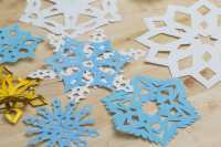 Winter Craft: How to Make Perfect Cutout Snowflakes
