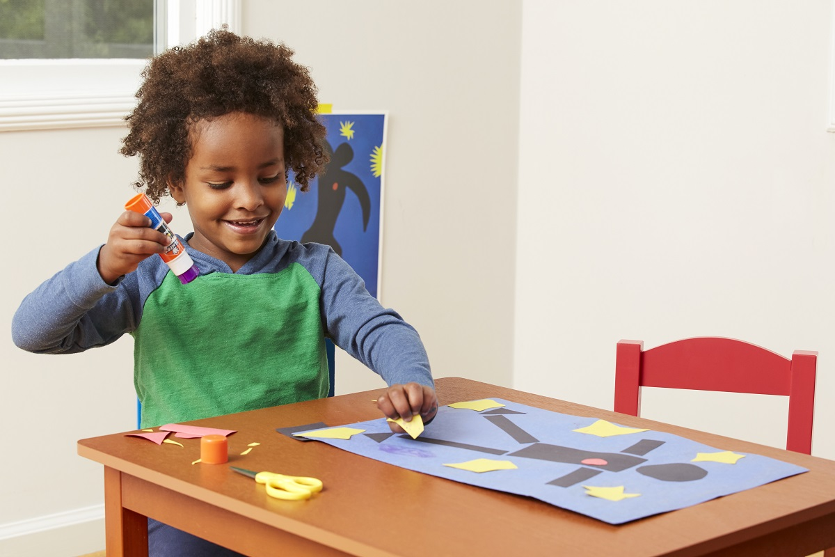 Matisse and Me - Make a Self-Portrait with Scissors
