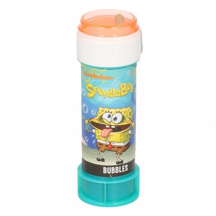 1x Bellenblaas Spongebob 60 ml speelgoed voor kinderen