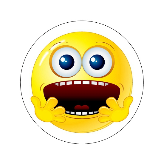 Bange Smiley stickers type 6