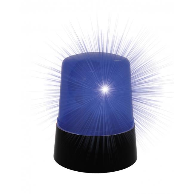 Blauwe lamp voor politie auto
