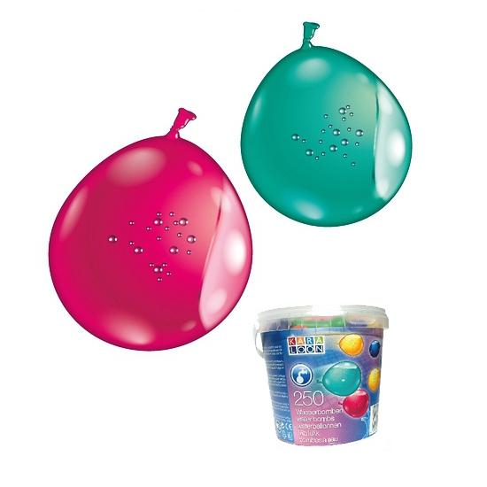 Feest waterballonnen gekleurd 250x
