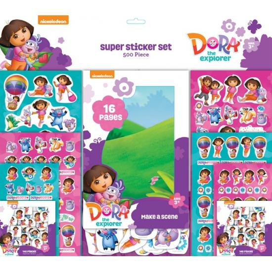 Grote stickerset Dora