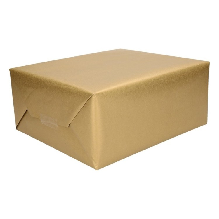 Inpakpapier goud 4 meter