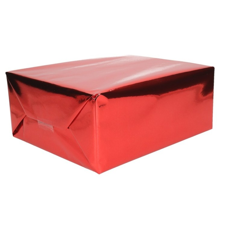 Inpakpapier rood metallic