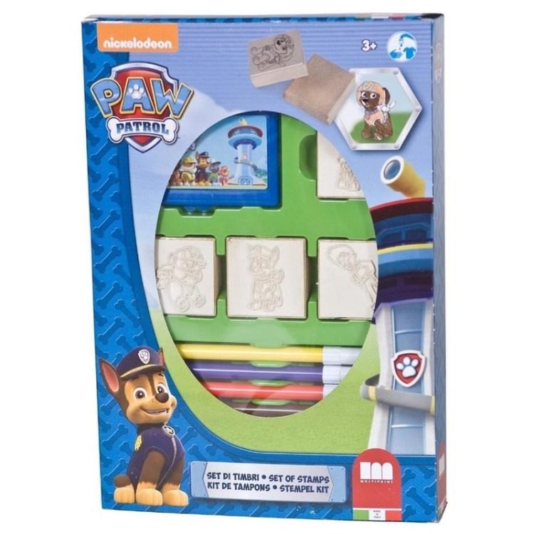Paw Patrol speelgoed stempel set 12 delig
