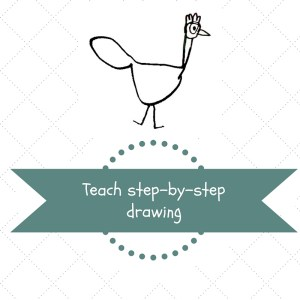 Teach step by step drawing
