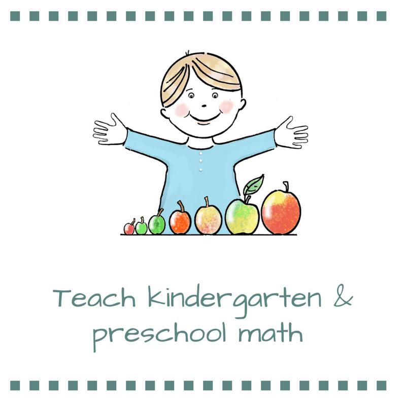 HOW TO TEACH KINDERGARTEN AND PRESCHOOL MATH - Kindergarten Lessons