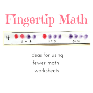 FINGERTIP MATH