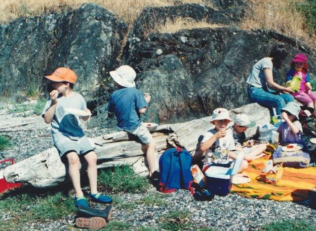 Tidepool picnic