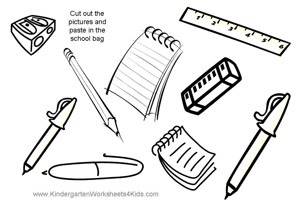 glue paste Colouring Pages