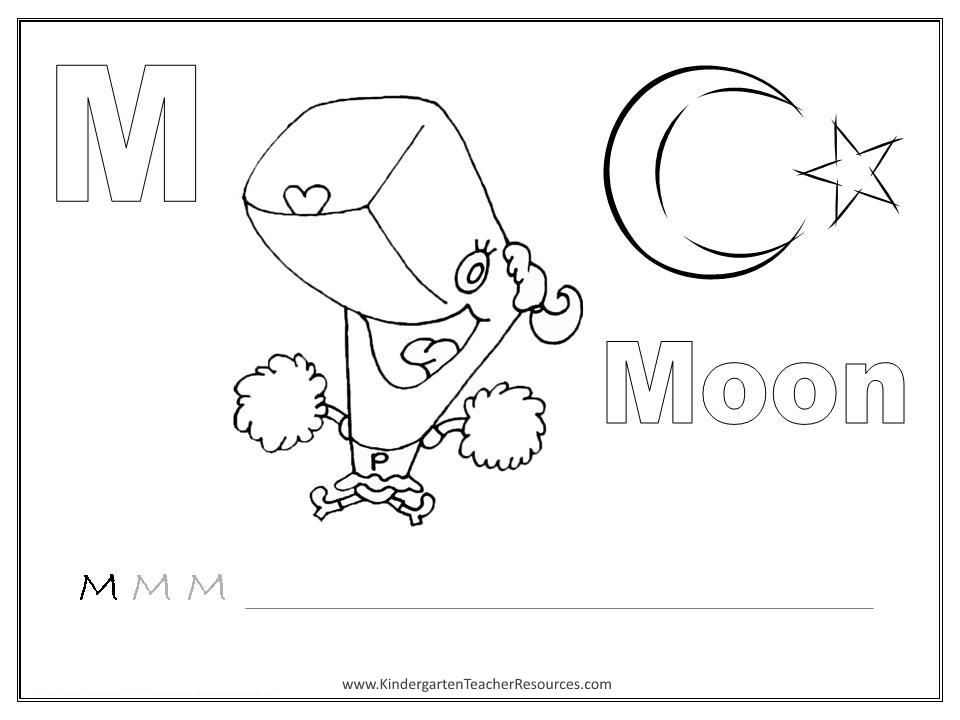 Image Result For Worksheet Letter M