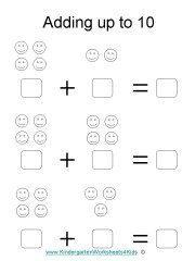 Free Addition worksheets ⋆ Kindergarten Teacher Resources
