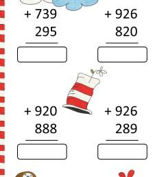 Free Dr Seuss Math Activities [ 1920 x 1440 Pixel ]
