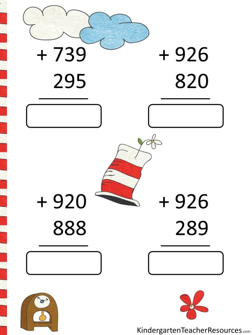 small resolution of Free Dr Seuss Math Activities
