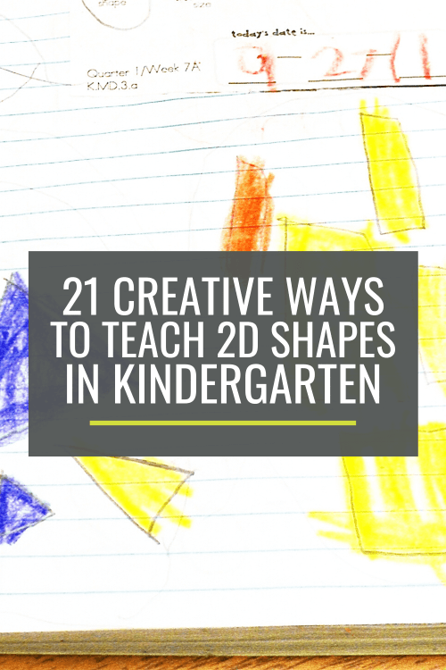 small resolution of 21 Creative Ways to Teach 2D Shapes in Kindergarten – KindergartenWorks