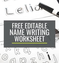 Free Name Writing Practice Sheet for Kindergarten – KindergartenWorks [ 1500 x 1000 Pixel ]