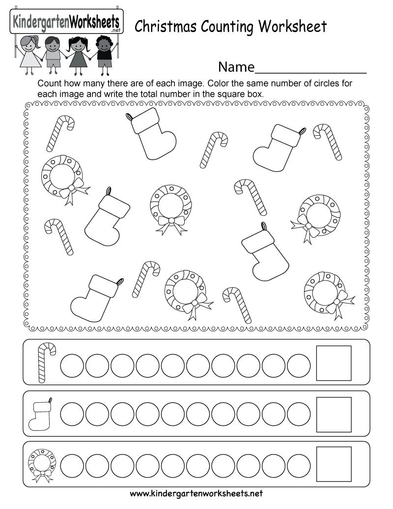 hight resolution of Preschool Christmas Math Worksheets   www.robertdee.org