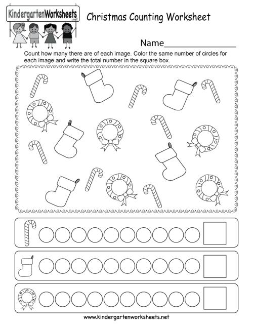 small resolution of Preschool Christmas Math Worksheets   www.robertdee.org
