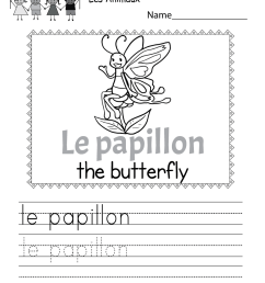 34 French Worksheet For Beginners - Worksheet Project List [ 1035 x 800 Pixel ]